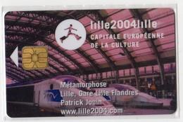 PIAF FRANCE LILLE Ref Passion PIAF 59000-88 15€ L&G 06/04 Tirage 2250 Ex TRAIN TGV - Francia