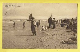 * De Panne - La Panne (Kust - Littoral) * (Nels, Série 9, Nr 8) Plage, Beach, Strand, Sea, Mer, Animée, Bateau Sauveteur - De Panne