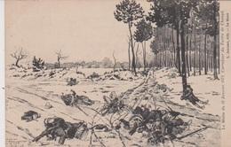 Le Matin Du 12 Janvier 1871 Carrefour Du Tertre De Changé - Other Municipalities