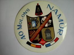 AUTOCOLLANT 40 MOLONS MONCRABEAU NAMUR BELGIQUE - Autres Collections