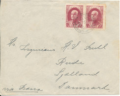 Iran Old Cover Sent To Denmark Via USSR 5-4-1939 (see Postmarks On The Backside Of The Cover) - Irán
