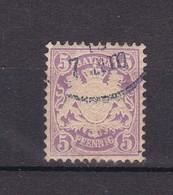 Bayern - 1878 - Michel Nr. 45 - Gest. - 30 Euro - Bavière