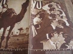 MARATHON BAISER COMITE DES FORGES/PIERRE COT /BIARRITZ /DEMENTES DU BERRY / EGLISE LOUIS FERDINAND CELINE   VU - 1900 - 1949
