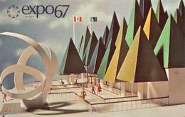Canada Montreal Quebec  Expo 67 The Canadian Pulp And Paper Pavilion   Foto Photo  Barry 5100 - Montreal