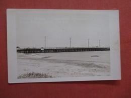California  Ocean Beach Pier  RPPC  >  Ref  3868 - Vereinigte Staaten