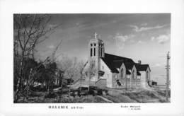 Canada Quebec Makamik Abitibi Church Kerk  Studio J. Vic Pelletier - MAKAMIK - MACAMIC   Foto Photo  Barry 5104 - Quebec