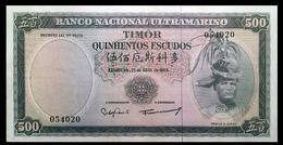 # # # Seltene ältere Banknote Timor 500 Escudos 1963 # # # - Timor