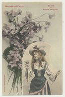 Langage Des Fleurs  - Violette - Edition Bergeret - Bergeret