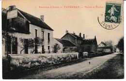 Saône Et Loire Environs D'Autun TAVERNAY Mairie Et écoles - France