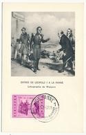 BELGIQUE => Carte Maximum - Entrée De Léopold 1 à La Panne - 1957 - Maximum Cards