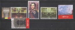 COB 3491 / 3495 Série Complète Oblitérée - Belgium