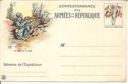 CP FM Dessin De JOB  '' Le Moulin à Café ''  Simili Timbre  8 Dpx  (Neuve) - Marcophilie (Lettres)