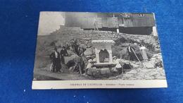 ANTIQUE PORTUGAL POSTCARD TERMAS DE CALDELAS - ALMINHAS - PONTE ROMANA CIRCULATED 1918 - Braga