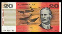 # # # Banknote Australien (Australia) 20 Dollars 1985 # # # - Australia