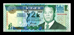# # # Sonder-Banknote Fiji 2 Dollars 2000 UNC # # # - Fidschi