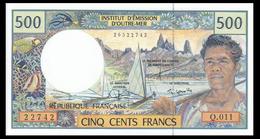 # # # French Pacific Territoies 500 Francs UNC # # # - Banknoten