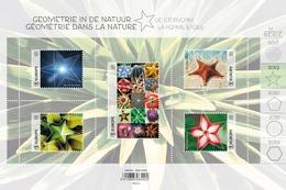 Géométrie Dans La Nature, Geometrie In De Natuur** De Stervorm - La Forme étoile MNH  Belgie - Belgique 2019 - Belgium