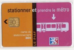 PIAF FRANCE LYON Ref Passion PIAF 69000-47 30€ L&G  Date 01/07 Tirage 1000 Ex Metro - Francia