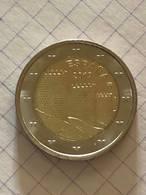 2 EUROS COMMÉMO. ESPAGNE 2019 - REMPARTS D'AVILA - Espagne