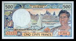 # # # Banknote Von Tahiti (Papeete) 500 Francs # # # - Banknoten