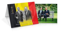 Belgie  Herdenkingsmap Met 4358/59** (Blok 210)  MNH én 4369/71** Monarchie Albert II Filip - Abdication Royale - Belgium