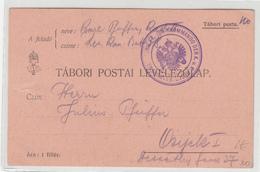 Austria WWI Feldpost Postcard Posted 1914 Kommando Der K.u.K. Reservekanonenbatterie FK. 38 To Osijek - Croatia