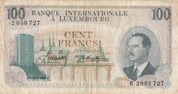 Billet 100 F Luxembourg 1968 - Luxemburg