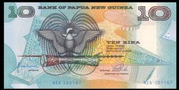 # # # Banknote Von Papua Neuguinea (Papua New Guinea 10 Kina UNC # # # - Papua New Guinea