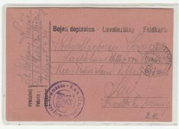 Austria WWI Feldpost Postcard 1917 FP634 K.u.K. 72. Infanterie-Brigade-Kommando To Senj B200125 - Croatia