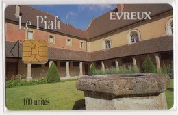 PIAF FRANCE EVREUX Ref Passion PIAF 27000-2 100U ORGA 3 Date 11/99 Tirage 1000 Ex - Parkkarten