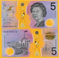Australia 5 Dollars P-62 2016 UNC Polymer Banknote - Australia