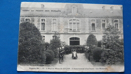 Guerre 1914 -15 : L'Hôpital Mixte De LUCON - L'Enterrement D'un Brave - Les Honneurs - Guerra 1914-18