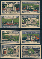 NOTGELD / GERNRODE  -   1921   -  12  Notgeldscheine  -   Ungebraucht - Lokale Ausgaben