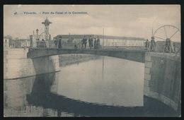 VILVOORDE   PONT DU CANAL ET LA CORRECTION - Vilvoorde