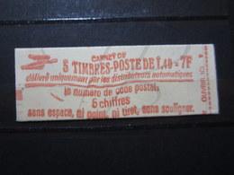 VEND BEAU CARNET DE TIMBRES DE FRANCE N° 2102-C1b , FERME !!! - Carnets