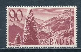 Französische Zone Baden 37 ** Mi. 75,- - Zone Française