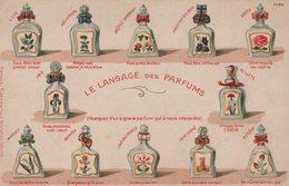 T5 - CP - LE LANGAGE DES PARFUMS - Carte Gauffrée - Cartes Postales