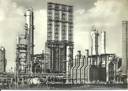 Gela (Caltanissetta) Stabilimento ANIC, Gruppo ENI, Impianti Coking E Topping - Gela