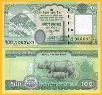Nepal 100 Rupees P-80 2019 UNC - Népal