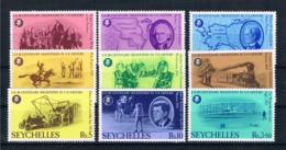 Seychellen 1976 200 Jahre Vereinigte Staaten Mi.Nr. 375/83 Kpl. Satz ** - Seychellen (1976-...)