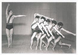 Sasha Jooss Leeder Ballet Performing Dante Inferno In 1935 Photo Postcard - Photographs