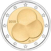 FINLAND 2 EURO 2019 - The Constitution Act - Total Rare - Finlande