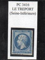 Seine-Maritime - N° 14B Obl PC 3416 Le Tréport - 1853-1860 Napoléon III