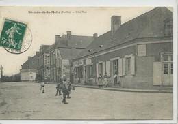 St-Jean -de-la-Motte-Une Rue - Autres Communes