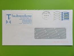 PAP - Entier Postal - Thibal Distribution - Rue Denis Papin (Physicien) - St Affrique (Aveyron) - 02.07.05 - Biglietto Postale