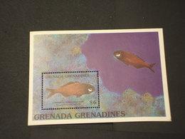 GRENADA/GRENADINES - BF 1991 PESCE - NUOVO(++) - Grenada (1974-...)