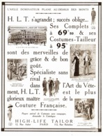 "PUB  "" HIGH-LIFE-TAILOR ""   1911 ( 18 ) - Mode"