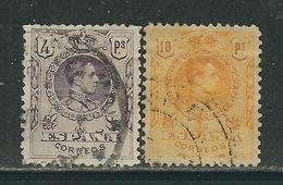 ESPAGNE  N° 253 & 254 Obl. - 1889-1931 Royaume: Alphonse XIII