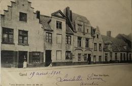 Gent - Gand // Rue Van Eyck 1902 - Gent