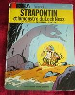 1963 STRAPONTIN ET MONSTRE DU LOCH NESS Album Original Bande Dessinée BD Histoire Journal Tintin,Lombard Goscinny/Berck - Tintin
